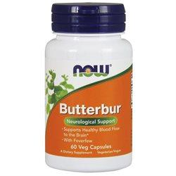 Butterbur with Feverfew Supplements Now Foods