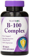 B-100 Complex Supplements Natrol