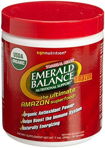 Emerald Balance Amazon Organic Antioxidant Superfood Canister