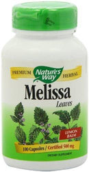 Melissa Leaves Supplements Natures Way  (10030175491)