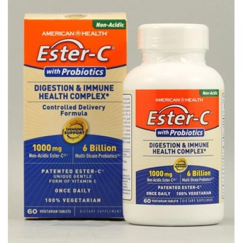 Ester-C Probiotics 1000mg Supplements American Health  (10030532291)