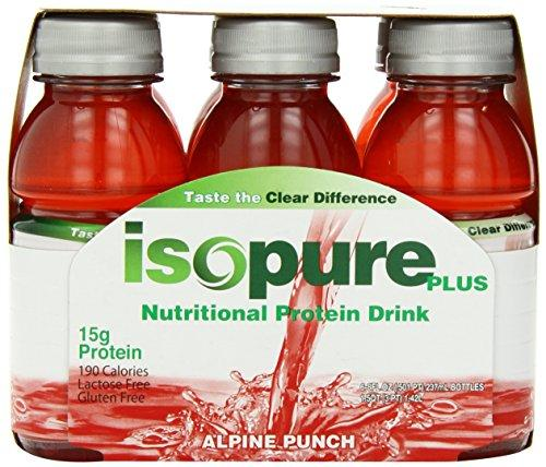 Isopure Plus RTD Energy & Sports Drinks Natures Best  (10030155843)