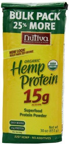 Hemp Protein Powder 15gm Supplements Nutiva  (10031545539)