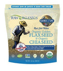 Organic Flax Meal + Chia Seeds Vitamins & Minerals Garden of Life  (10030966595)