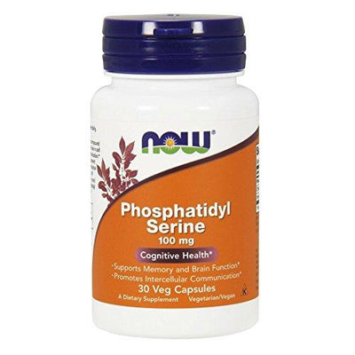 Phosphatidyl Serine Supplements Now Foods