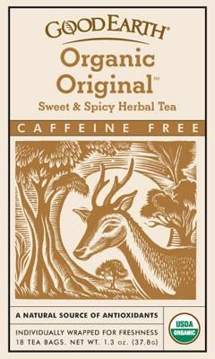 Sweet & Spicy Caffeine Free,Organic Vitamins & Minerals Good Earth Teas  (10030993411)