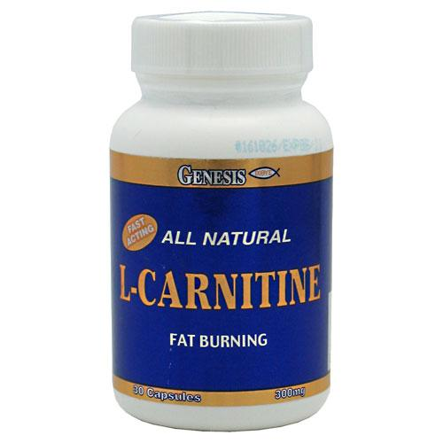 Pure L-Carnitine - 300 mg Supplements Genesis Nutrition  (10030975299)