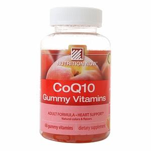 CoQ10 Adult Gummy Vitamin Health & Wellness/Antioxidants/Coenzyme Q10 Nutrition Now  (10030377667)
