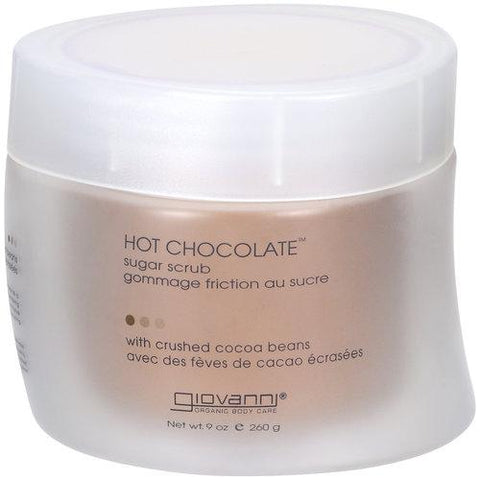 Hot Chocolate Sugar Scrub w/Crushed Cocoa Beans
