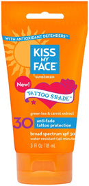 Tattoo Shade Lotion SPF 30 Supplements Kiss My Face  (10031195587)