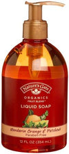 Mandarin Orange and Patchouli Liquid Soap
