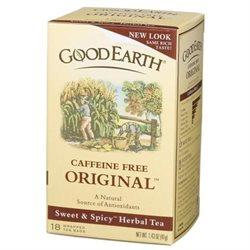 Sweet & Spicy Caffeine Free Vitamins & Minerals Good Earth Teas  (10030993667)