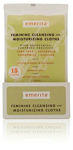 Feminine Cleansing Cloths Supplements Emerita  (10030849475)