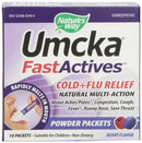 Umcka FastActives Cold and Flu Relief Supplements Natures Way  (10030202307)