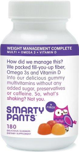 Adult Gummy Vitamin + Weight Management Supplements SmartyPants  (10031768771)