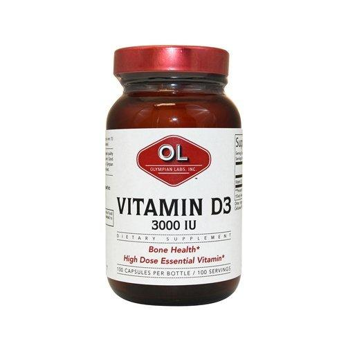Vitamin D3 3000 IUs Supplements Olympian Labs  (10031590531)