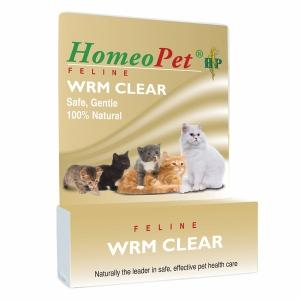 WRM Clear Feline Supplements Homeopet  (10031098947)