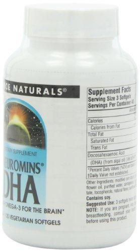 Neuromins DHA 200 mg Supplements Source Naturals  (10031789059)