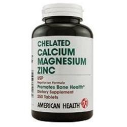 Calcium and Magnesium w/Zinc Supplements American Health  (10030529475)