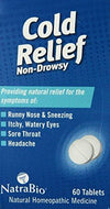 Cold Relief Supplements Natra-Bio