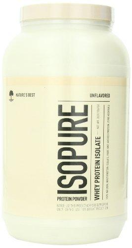 Isopure Zero Carb Protein Natural Protein/Whey Isolate Natures Best  (10030155587)
