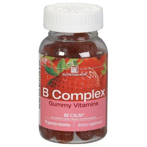 B Complex Adult Gummy Vitamin Supplements Nutrition Now  (10030377027)