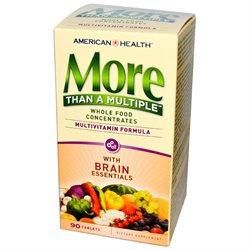 More Than A Multiple Brain Supplements American Health  (10030532355)