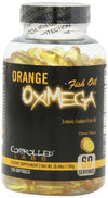 Orange OxiMega Fish Oil Health & Wellness/Healthy Fats Controlled Labs