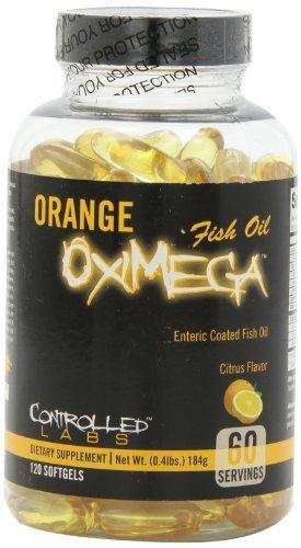 Orange OxiMega Fish Oil Health & Wellness/Healthy Fats Controlled Labs  (10028934659)