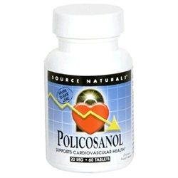 Policosanol 20MG Supplements Source Naturals  (10031790211)