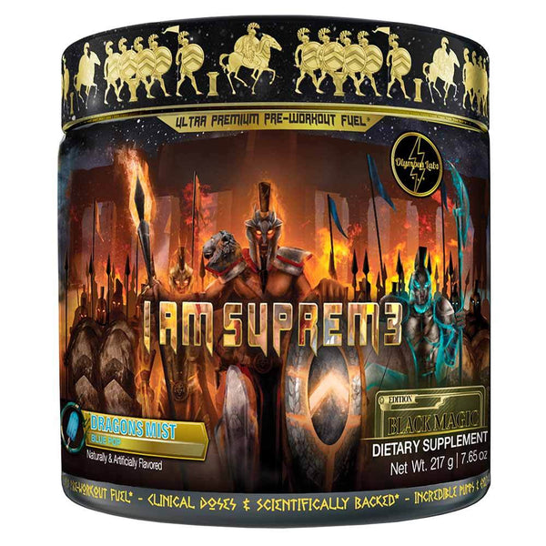 Olympus Labs I Am Suprem3 Black Magic Edition 20SV Sports Performance Recovery Olympus Labs Dragon's Mist  (1547112087575)