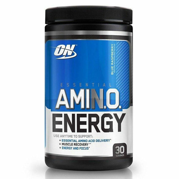 Optimum Nutrition Amino Energy 30 Servings Pre-Workout Optimum Nutrition Blue Raspberry  (10901682307)