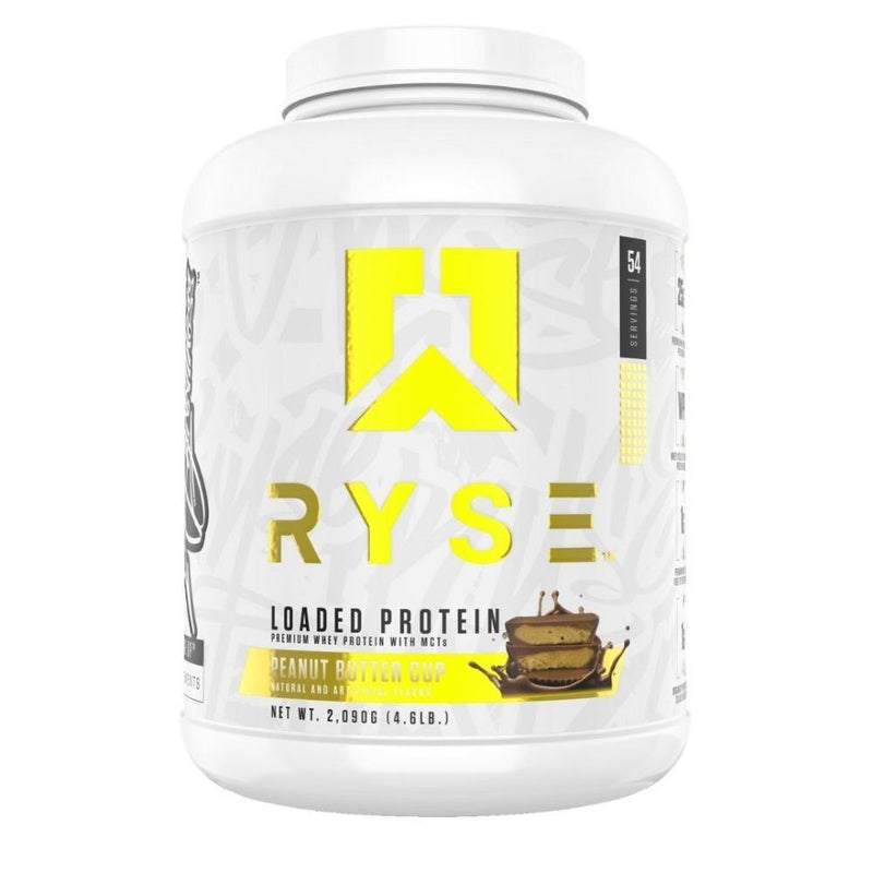 Ryse Supplements Loaded Protein 4lb Protein Powders Ryse Supplements Chocolate Peanut Butter Cup  (4494824865815)