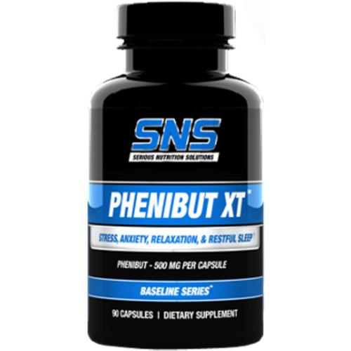 Serious Nutrition Solutions PHENIBUT XT 90C nootropic Serious Nutrition Solutions  (10950193731)