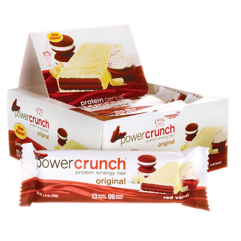 Power Crunch Wafers 12/Box Bars Bionutritional Research Group  (1471172247575)
