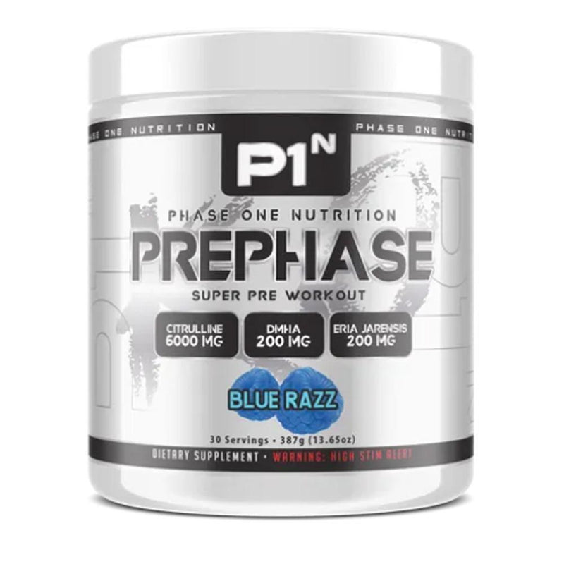 Phase One Nutrition PrePhase 30 Servings Pre-Workouts Phase One Nutrition Blue Magic  (4252738093079)