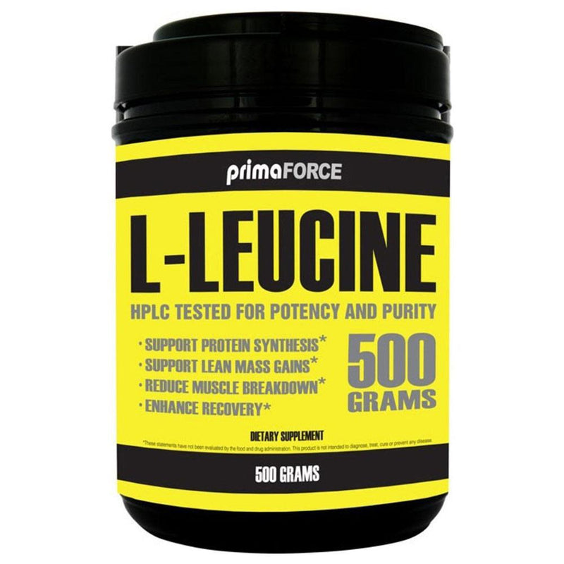 PrimaForce L-Leucine 500 Grams Amino Acids PrimaForce  (572711501857)