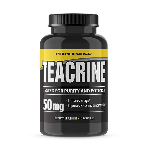 Primaforce Teacrine 50mg 120CT Fat Burner PrimaForce  (1381542723607)