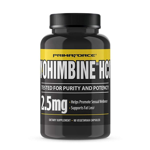 Primaforce Yohimbine HCL 60ct Fat Burner PrimaForce  (1381504450583)