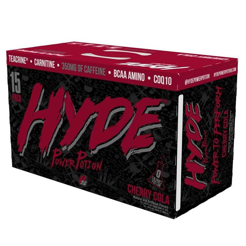 Pro Supps Hyde Power Potion 15/Cans Drinks Pro Supps CHERRY COLA  (1549283688471)