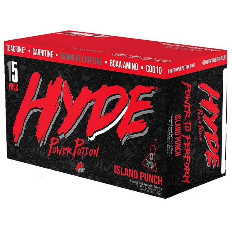 Pro Supps Hyde Power Potion 15/Cans Drinks Pro Supps ISLAND PUNCH  (1549283688471)