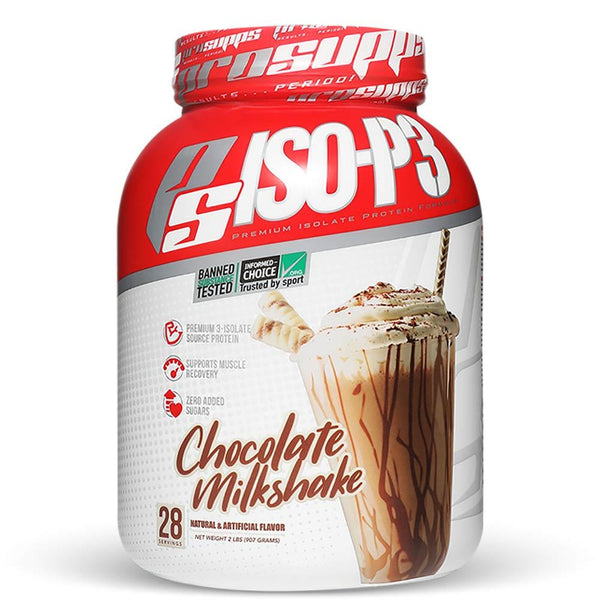 Pro Supps Iso-P3 2lbs Protein Powders Pro Supps Chocolate Milkshake  (1564401664023)