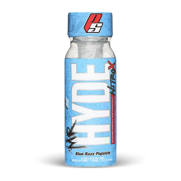 Pro Supps Mr Hyde Nitro X RTD Drinks Pro Supps Blue Razz Popsicle  (1566104420375)
