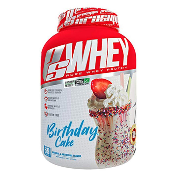 Pro Supps PS Whey 5lb Protein Powders Pro Supps Birthday Cake  (1568221888535)