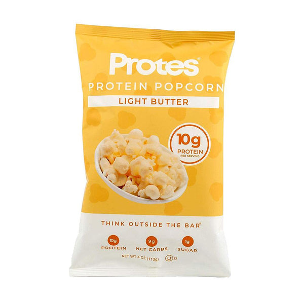 Protes Protein Popcorn 24/Box 1.4oz Bags Foods Juices PROTES Light Butter  (3511375331351)