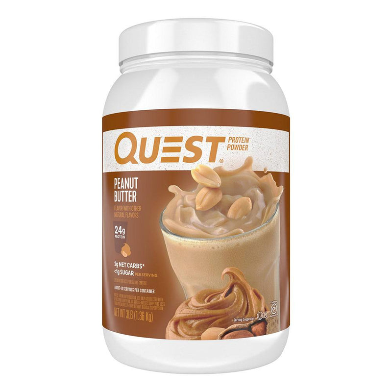 Quest Nutrition Protein Powder 3lb Protein Powders Quest Nutrition Peanut Butter  (1569180680215)