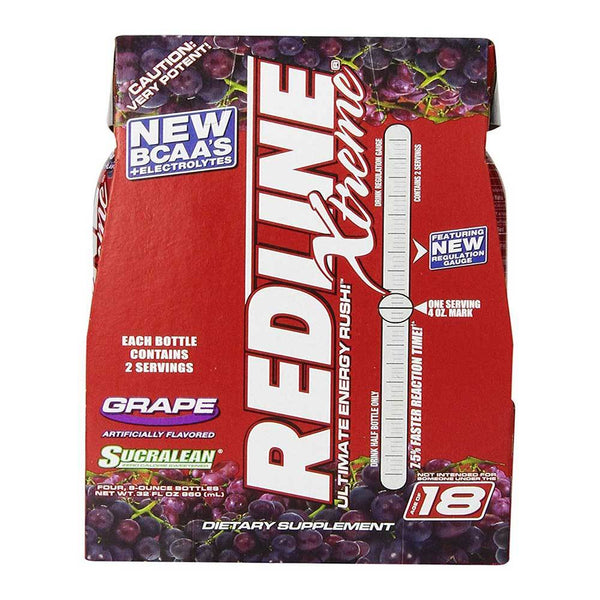 VPX Redline Xtreme RTD 4 Pack Drinks VPX Grape  (1497198297111)
