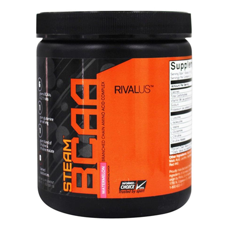 Rivalus Steam BCAA 75 Servings Amino Acids Rivalus Watermelon  (1576768077847)