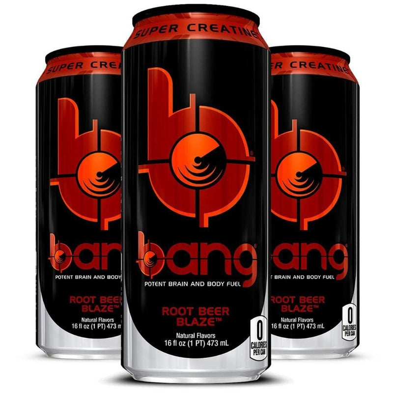 VPX Bang Energy RTD Energy & Sports Drinks VPX Root Beer Blaze  (10980129475)