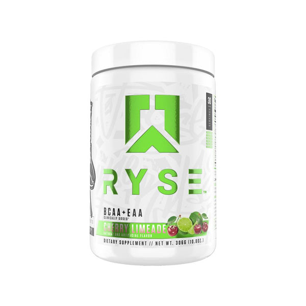 Ryse BCAA + EAA 30/Servings Amino Acids Ryse Supplements Cherry Limeade  (4417161101335)